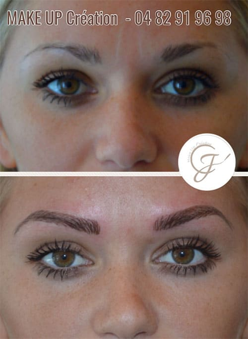 maquillage permanent yeux 91