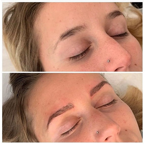Maquillage permanent des sourcils à Lyon